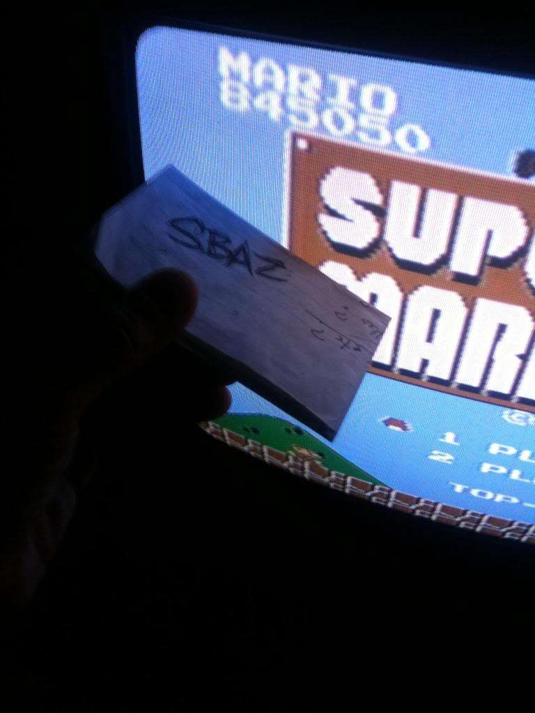Super Mario Bros. 845,050 points