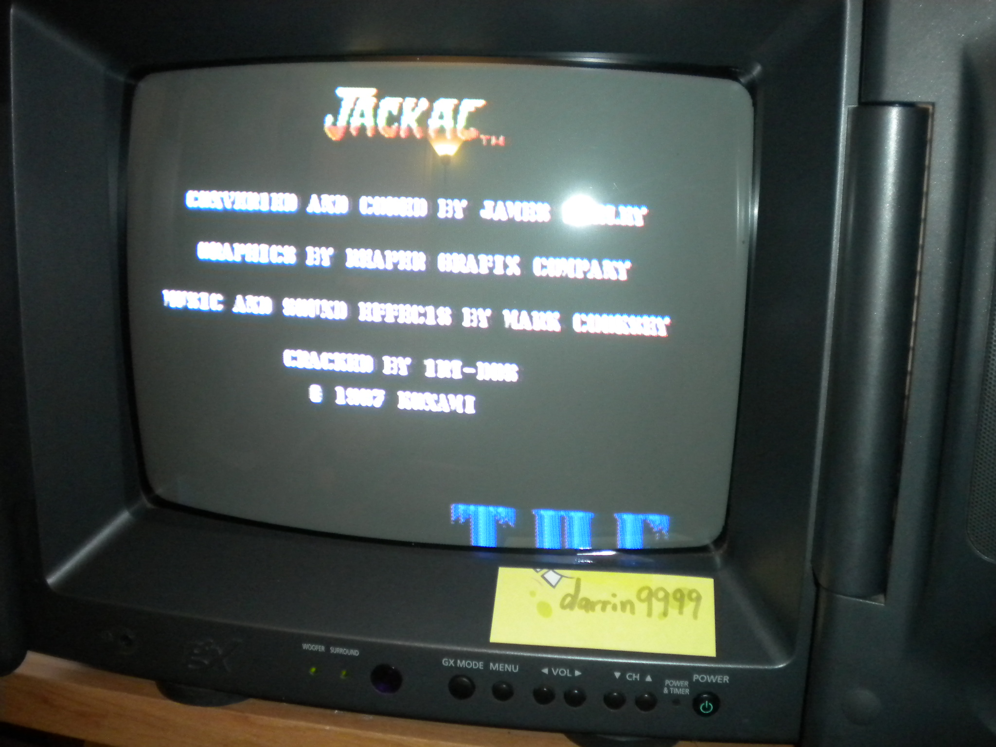 Jackal [US Version] 56,250 points