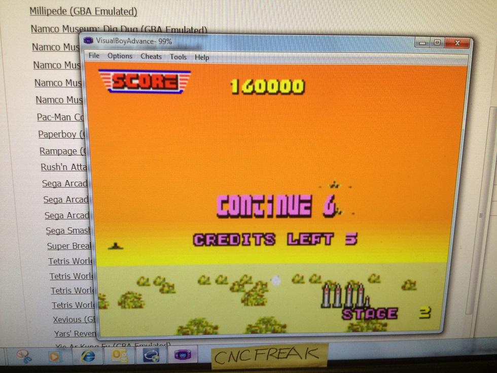 Sega Arcade Gallery: After Burner 160,000 points