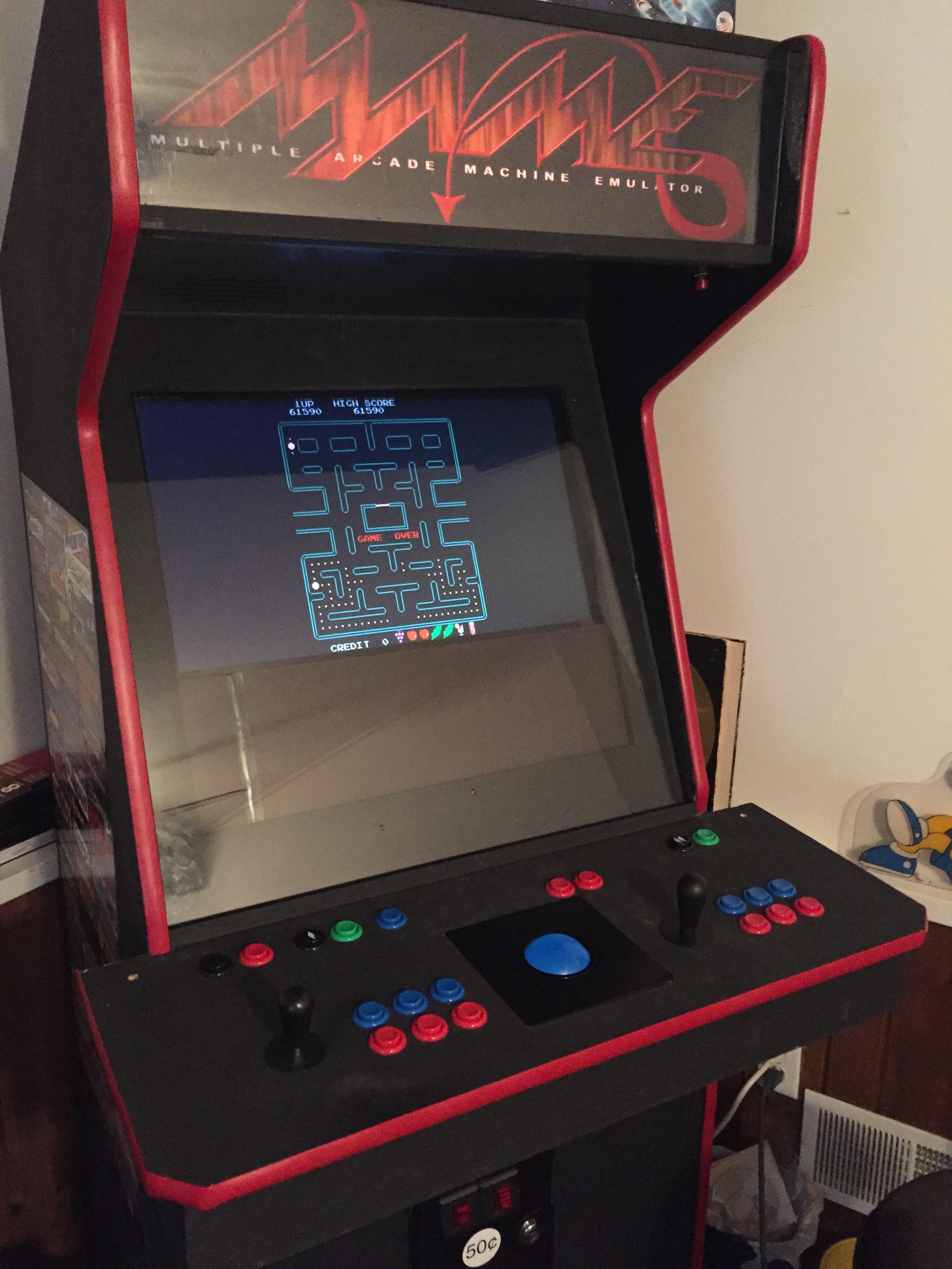 Pac-Man Plus 61,590 points