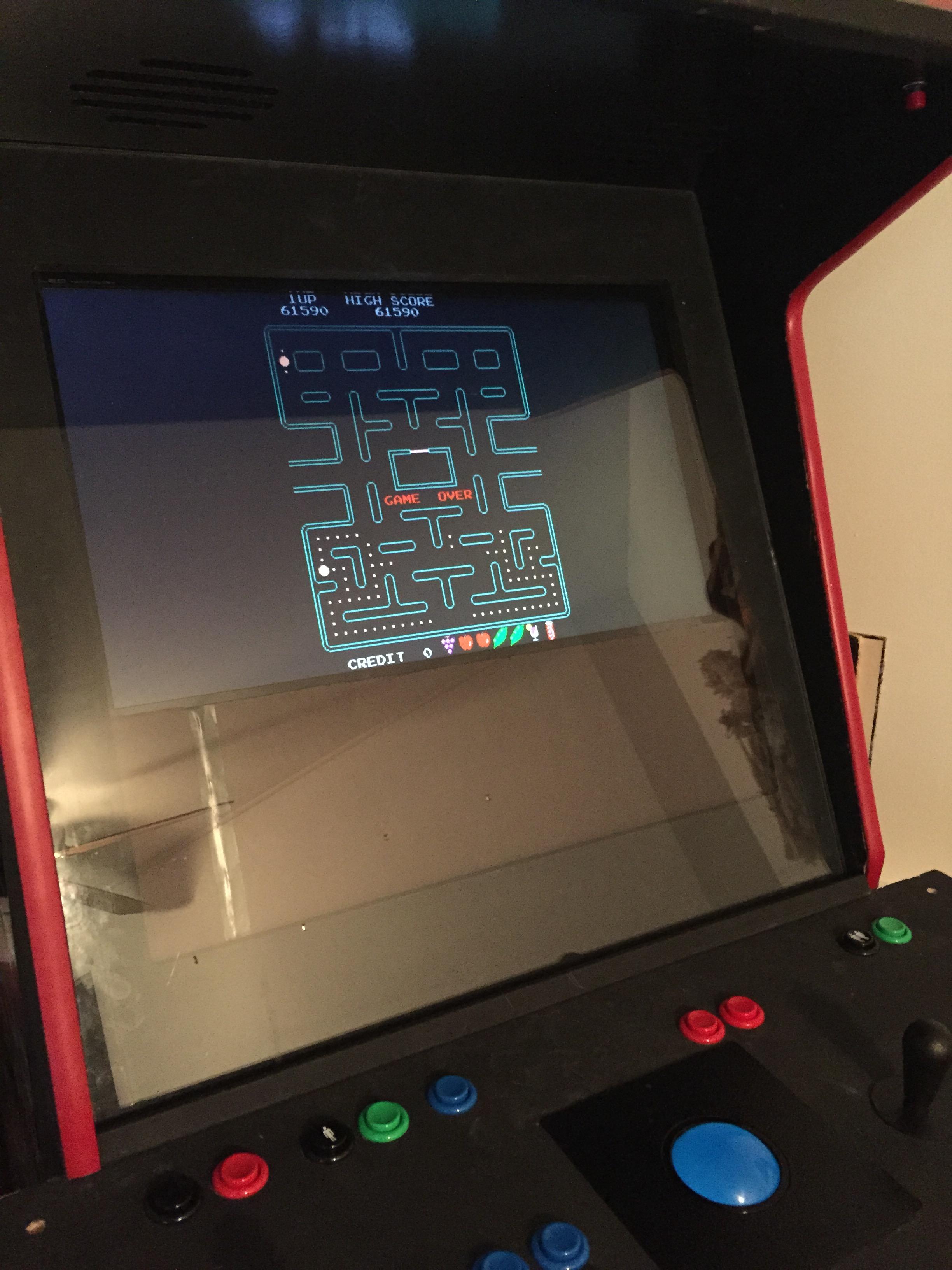 Deteacher: Pac-Man Plus (Arcade Emulated / M.A.M.E.) 61,590 points on 2015-04-08 08:27:04