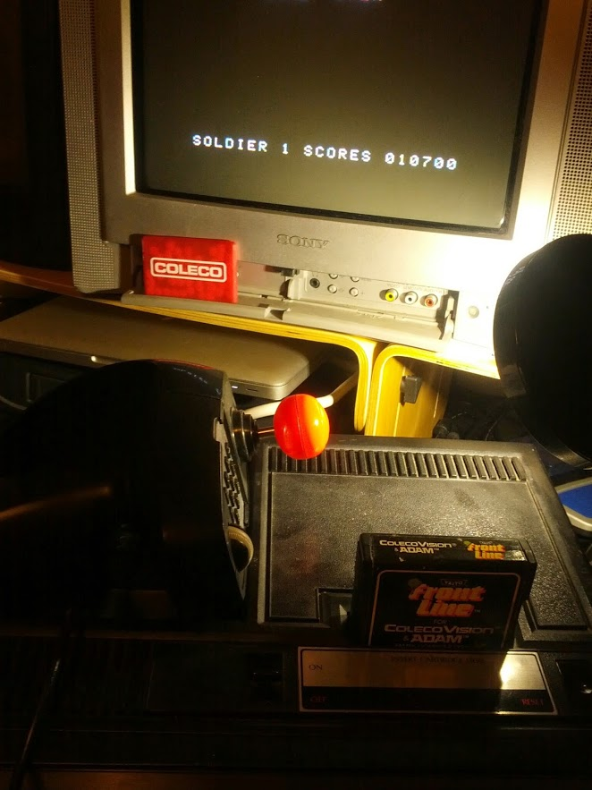 coleco1981: Front Line (Colecovision) 10,700 points on 2015-04-08 19:39:16