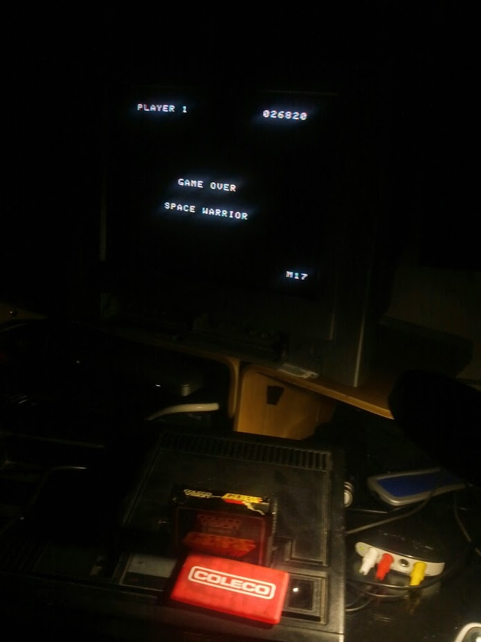 coleco1981: Gorf (Colecovision) 26,820 points on 2015-04-08 22:00:10