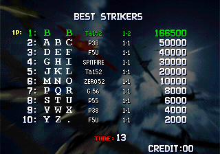 BarryBloso: Strikers 1945 Plus (Neo Geo Emulated) 166,500 points on 2015-04-10 19:10:26