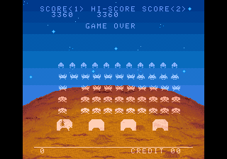 BarryBloso: Space Invaders DX: Classic Mode [spacedx] (Arcade Emulated / M.A.M.E.) 3,360 points on 2015-04-10 19:21:03