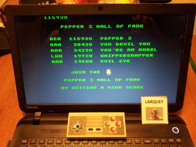 Pepper II 115,930 points