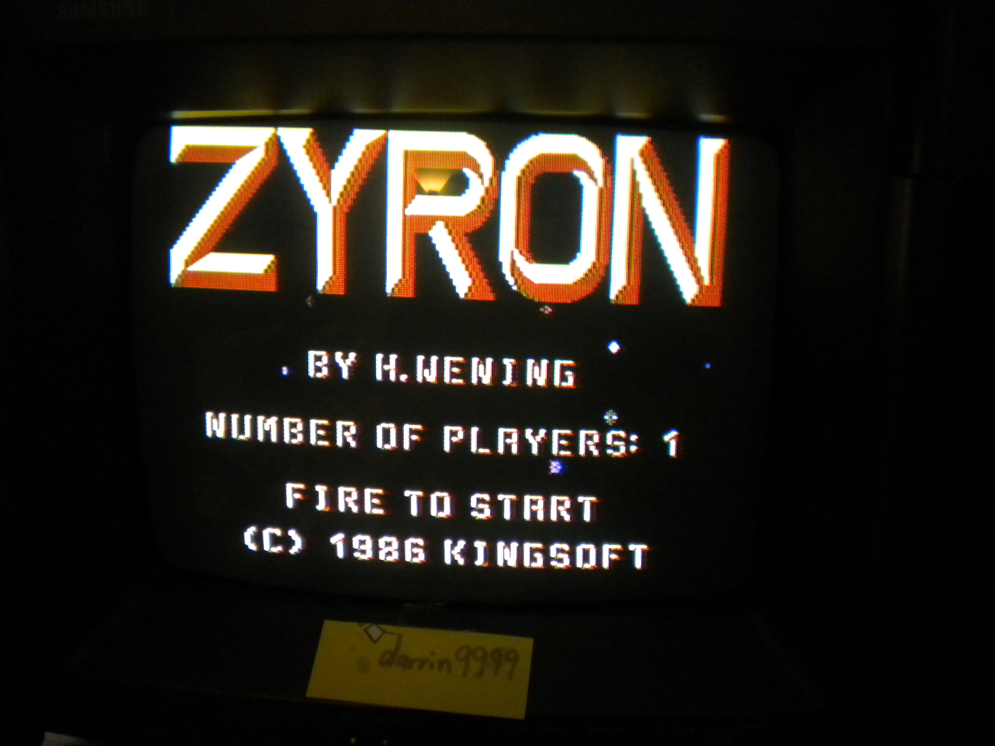 Zyron 2,040 points