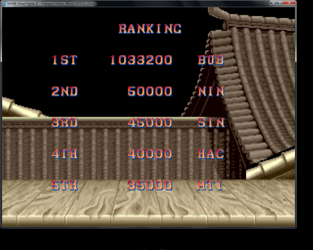 bubufubu: Street Fighter II: Champion Edition [sf2ce] (Arcade Emulated / M.A.M.E.) 1,033,200 points on 2015-04-11 14:32:20