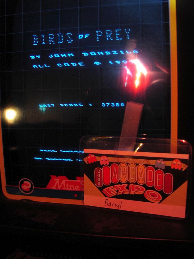 DarrylB: Vecmania: Birds of Prey (Vectrex) 37,380 points on 2015-04-11 22:54:39