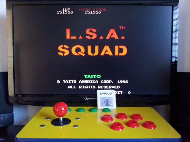 Land Sea Air Squad 151,550 points