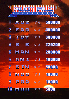 BarryBloso: 1945k III [1945kiii] (Arcade Emulated / M.A.M.E.) 228,200 points on 2015-04-12 05:50:26