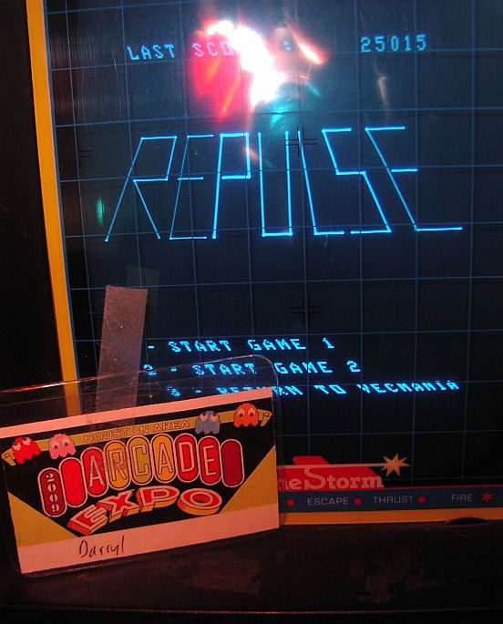 DarrylB: Vecmania: Repulse (Vectrex) 25,015 points on 2015-04-12 23:34:07
