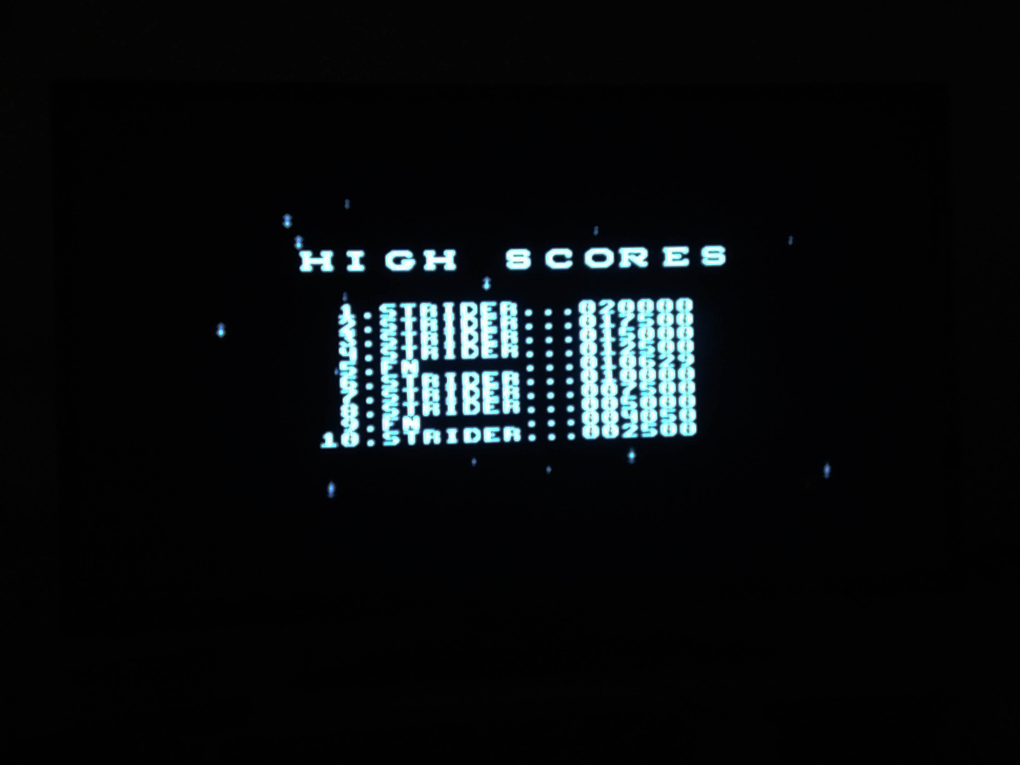 mechafatnick: Strider II [Easy] (Sega Master System) 10,629 points on 2015-04-15 00:34:13