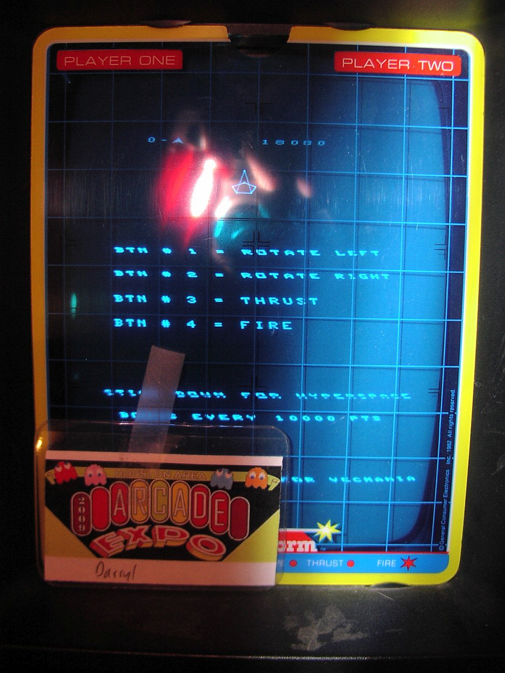 DarrylB: Vecmania: Rockaroids Remix: Third Rock (Vectrex) 18,080 points on 2015-04-15 19:45:20