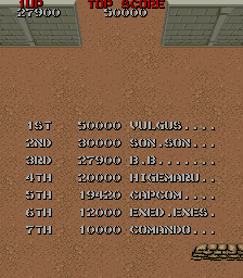 BarryBloso: Commando (Arcade Emulated / M.A.M.E.) 27,900 points on 2015-04-16 07:13:54