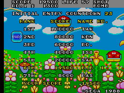 BarryBloso: Fantasy Zone II: The Tears of Opa-Opa [fantzn2] (Arcade Emulated / M.A.M.E.) 19,500 points on 2015-04-16 07:23:56