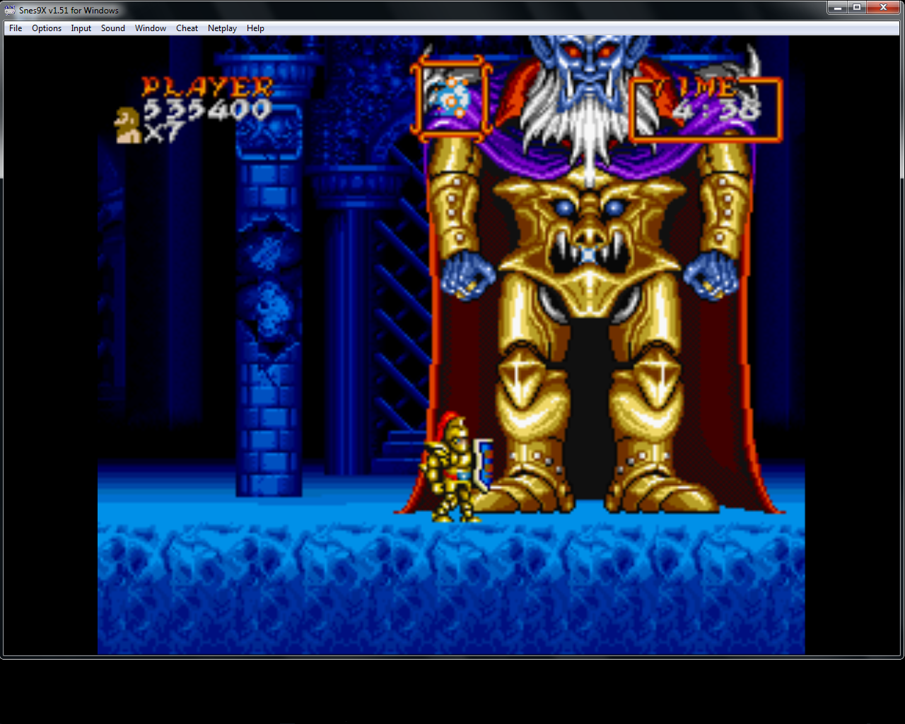 bubufubu: Super Ghouls N Ghosts (SNES/Super Famicom Emulated) 535,400 points on 2015-04-16 21:16:59