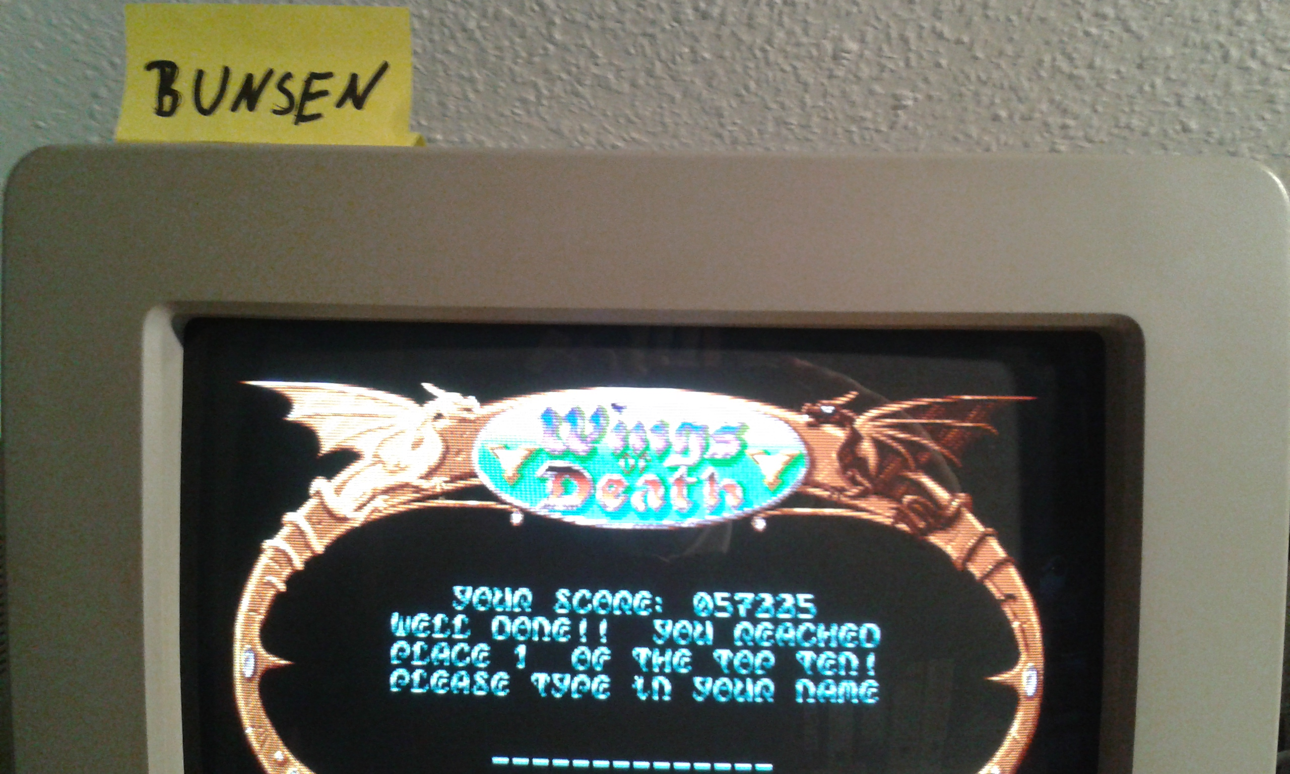 Wings of Death 57,225 points