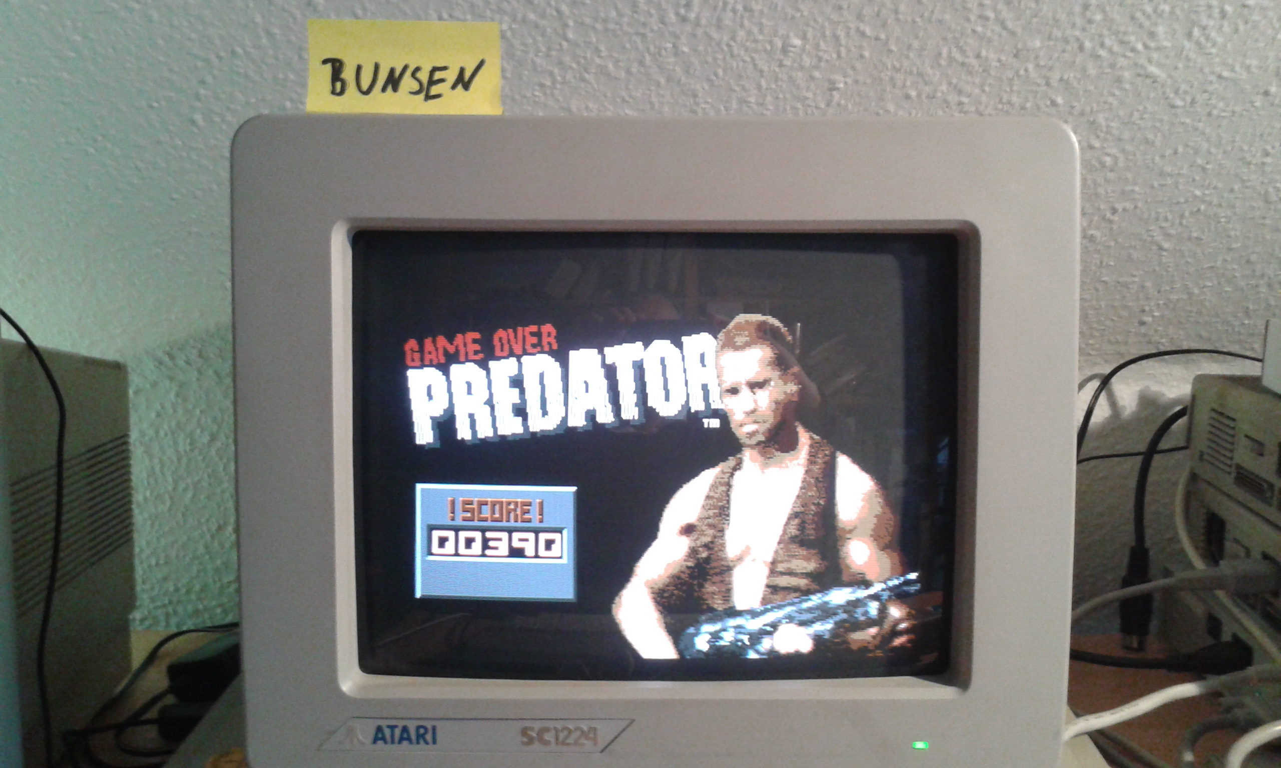 Bunsen: Predator (Atari ST) 390 points on 2015-04-17 10:53:40