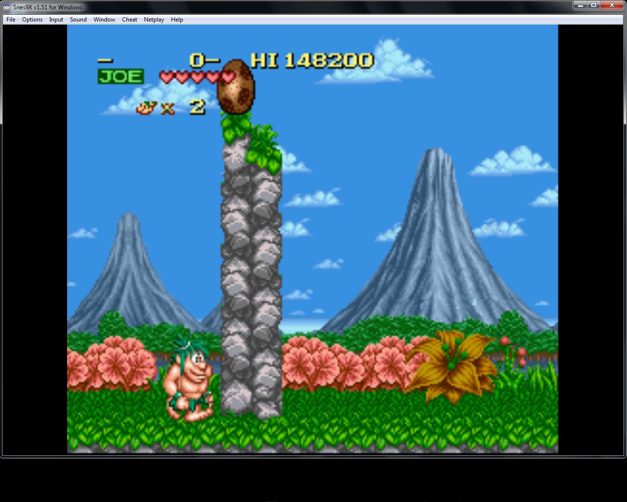 bubufubu: Joe & Mac [Normal] (SNES/Super Famicom Emulated) 148,200 points on 2015-04-17 15:37:52