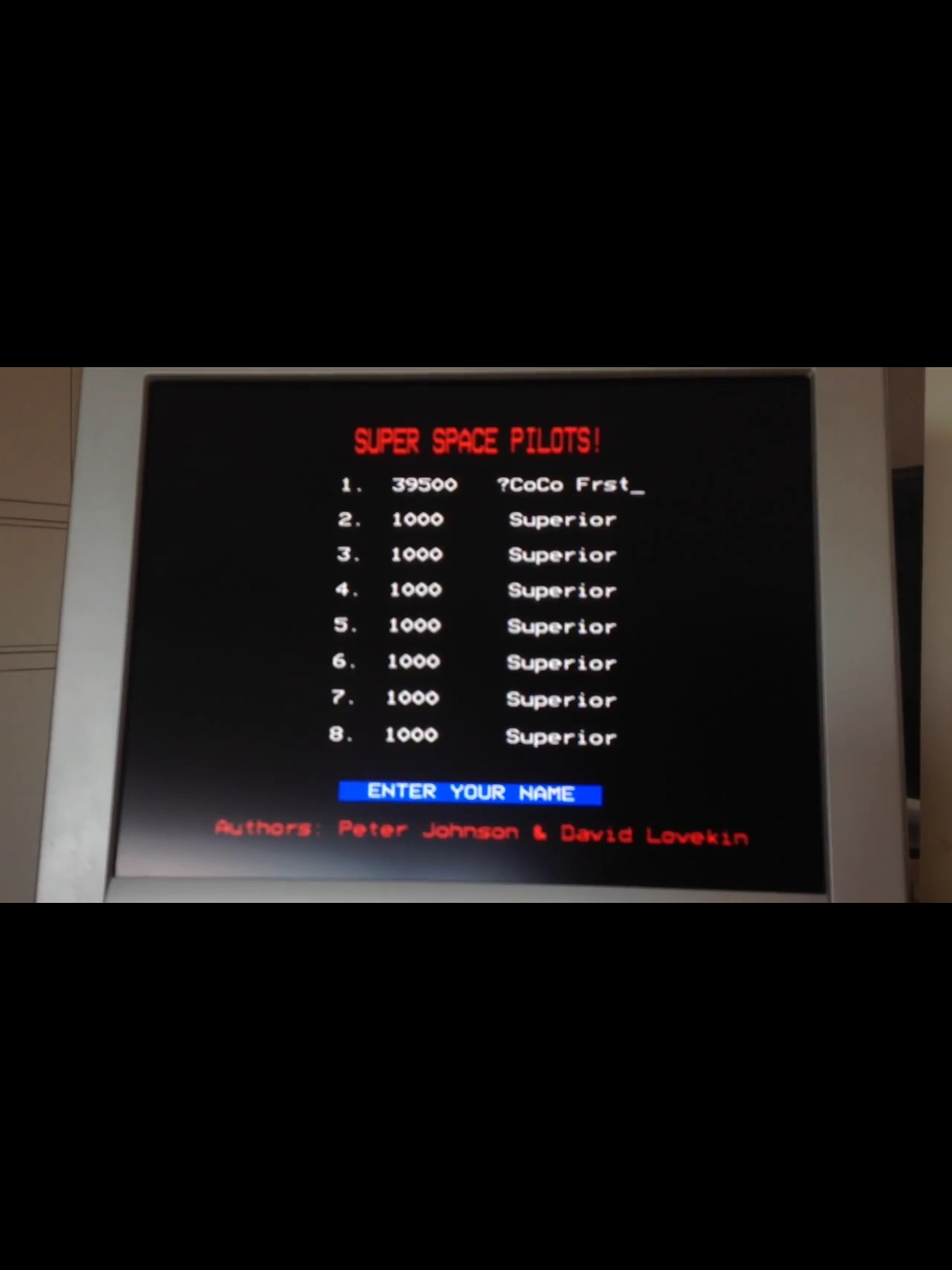 CoCoForest: Space Pilot (BBC Micro) 39,500 points on 2015-04-18 03:10:04