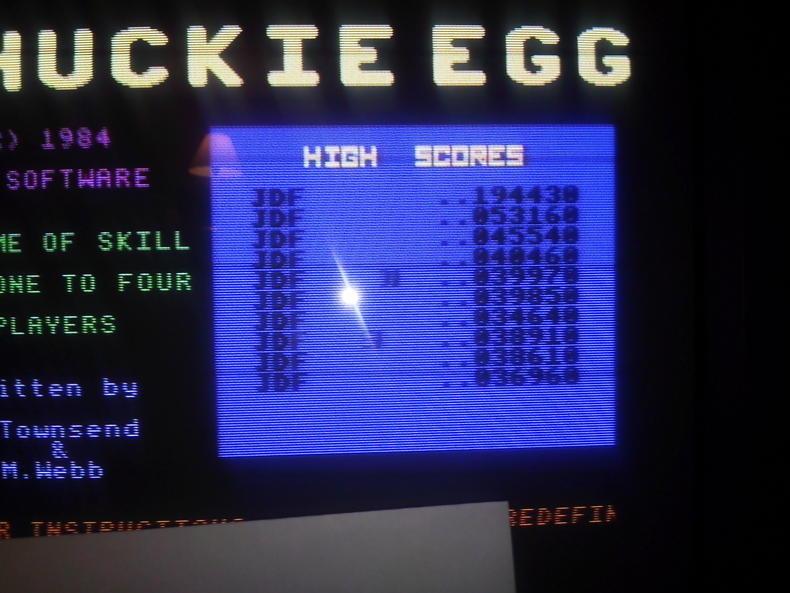 jfetzer: Chuckie Egg: Speed 3 (Commodore 64) 194,430 points on 2015-04-18 20:30:18