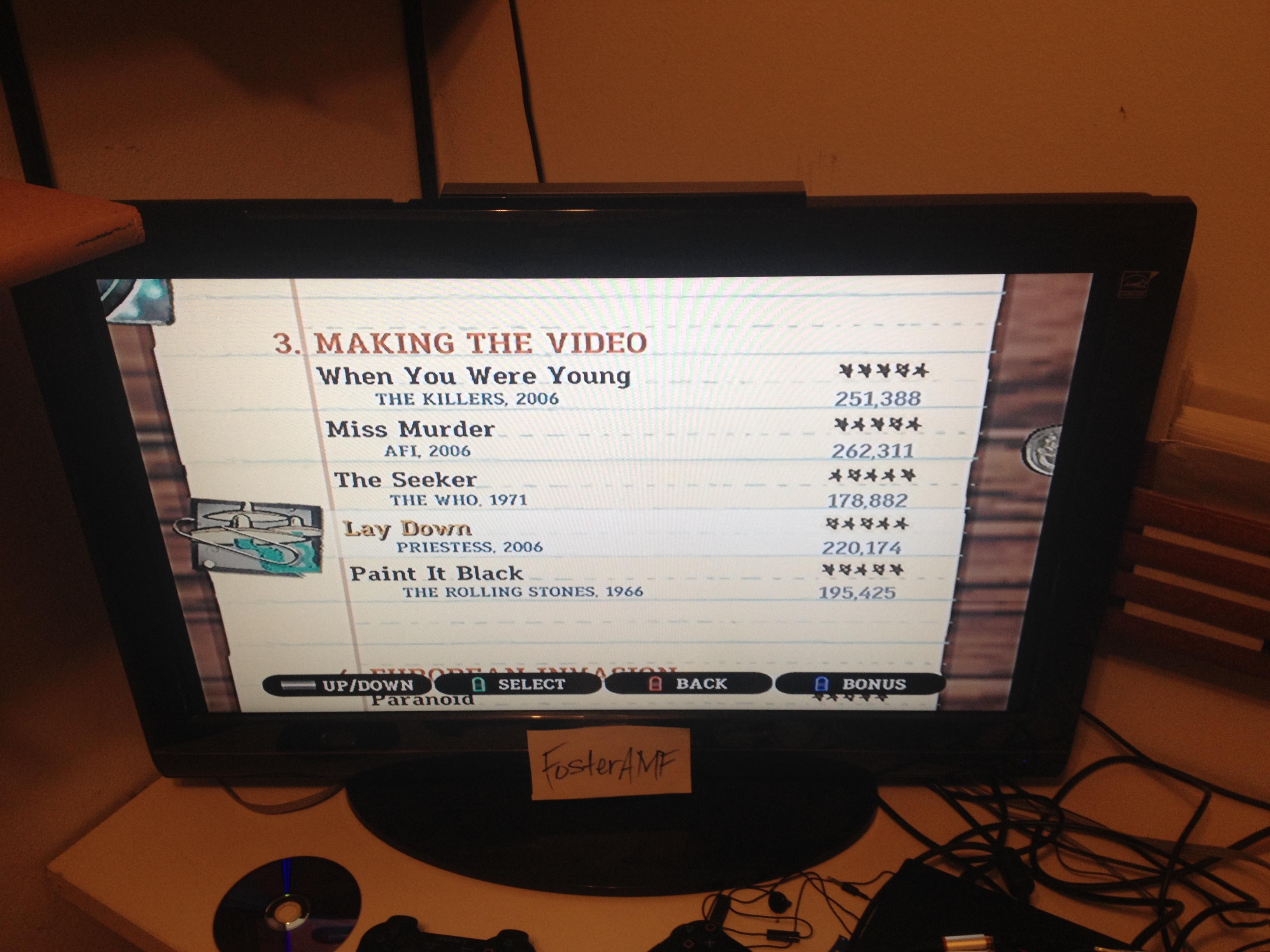 "FosterAMF: Guitar Hero III: Legends of Rock: ""Miss Murder"" [Expert] (Wii) 262,311 points on 2015-04-19 00:14:30"