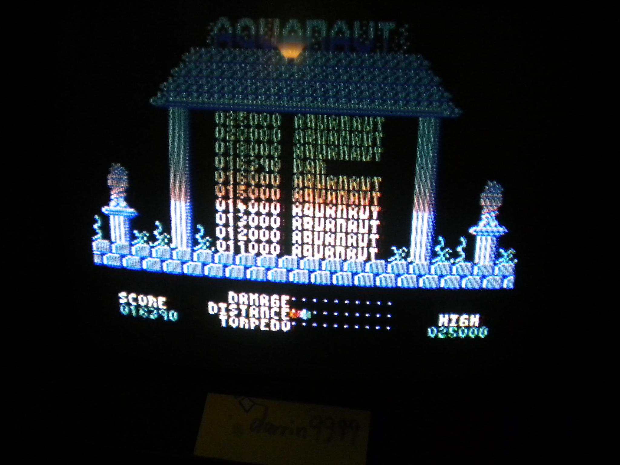 Aquanaut 16,390 points