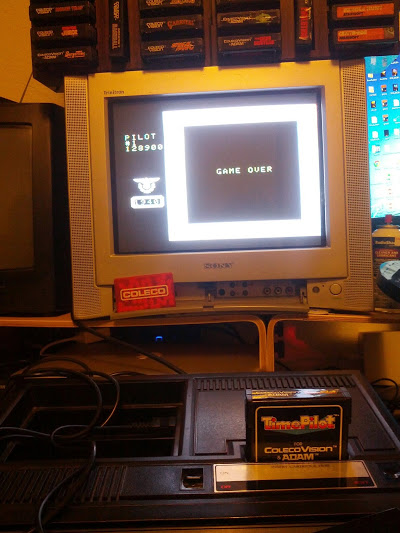 coleco1981: Time Pilot (Colecovision) 128,900 points on 2015-04-20 22:14:33