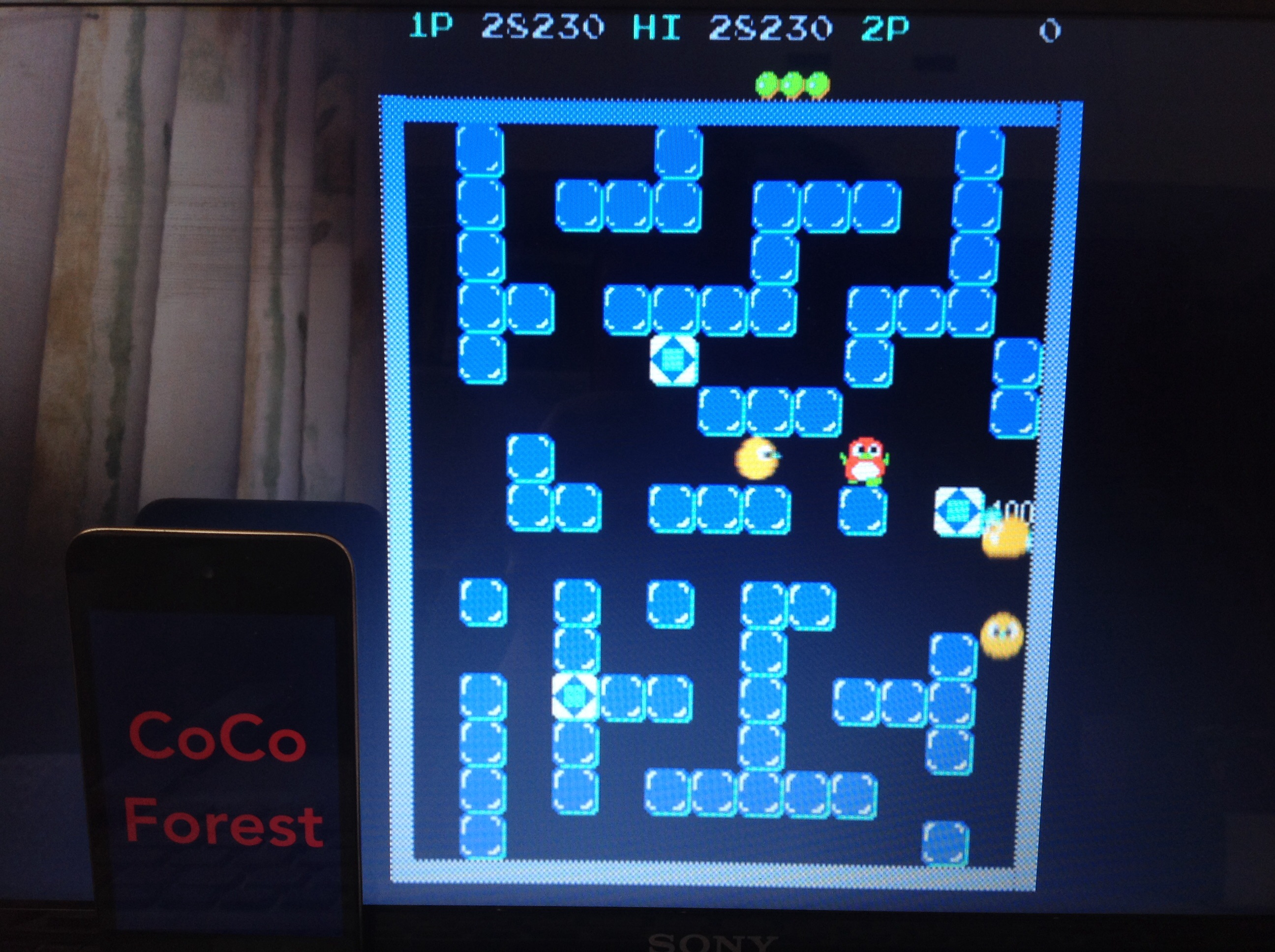CoCoForest: Pengo (Arcade Emulated / M.A.M.E.) 28,230 points on 2015-04-21 05:48:52