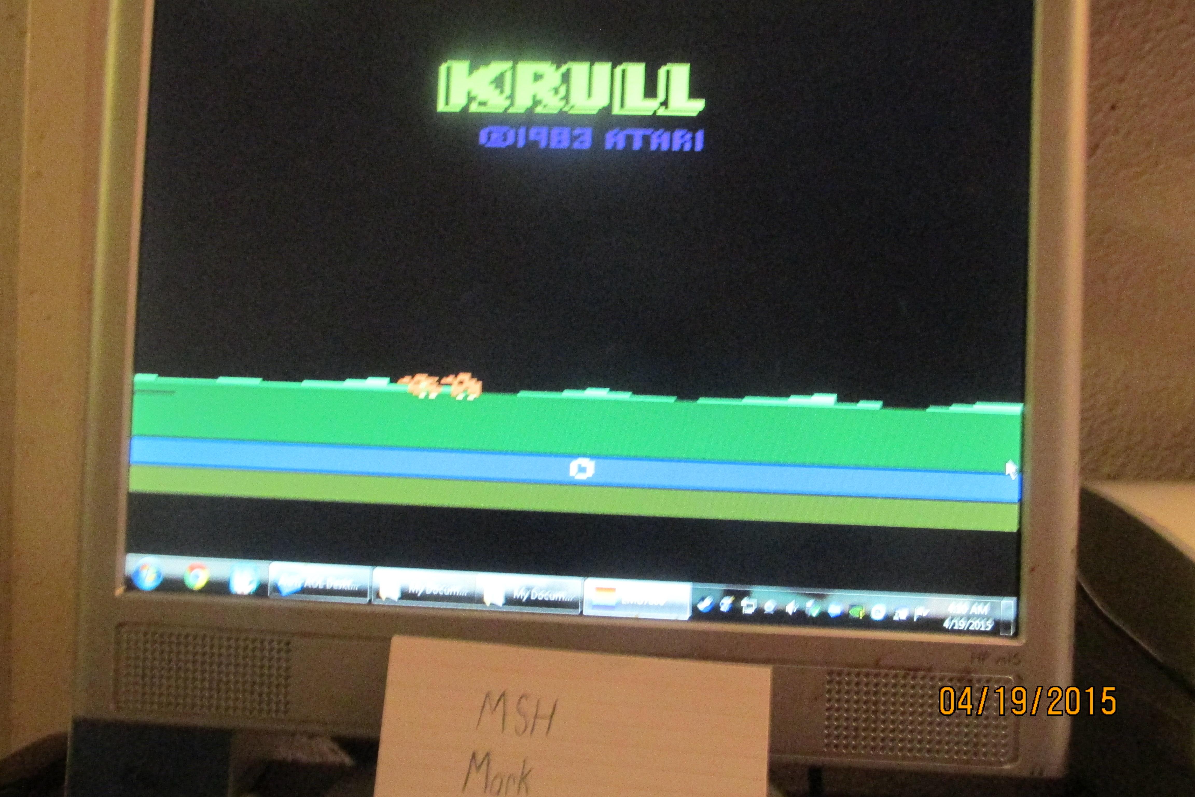 Krull 2,160 points