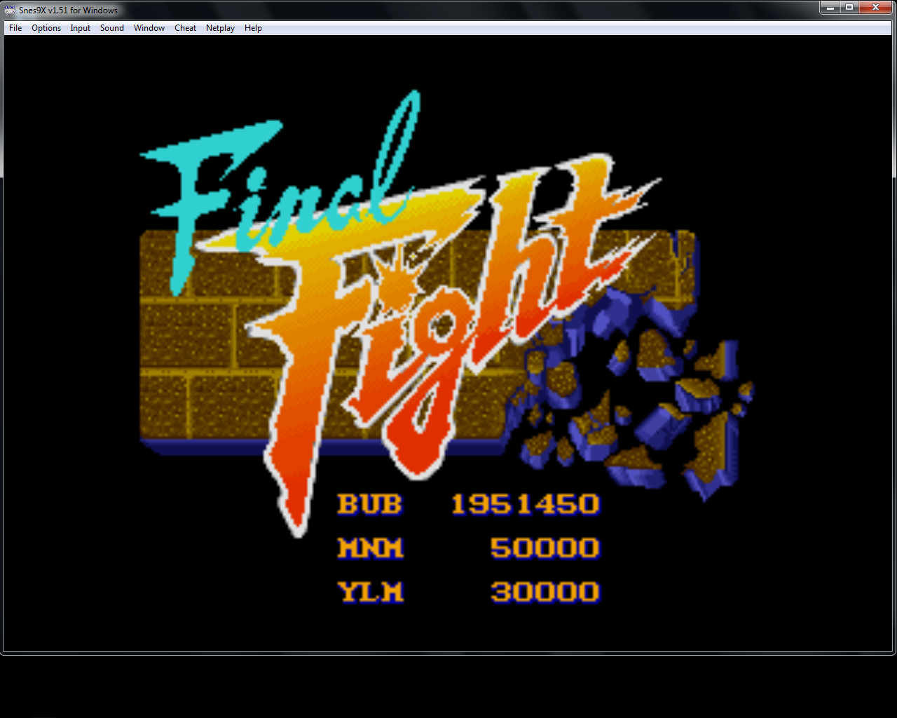 bubufubu: Final Fight: No Continue (SNES/Super Famicom Emulated) 1,951,450 points on 2015-04-22 14:50:47