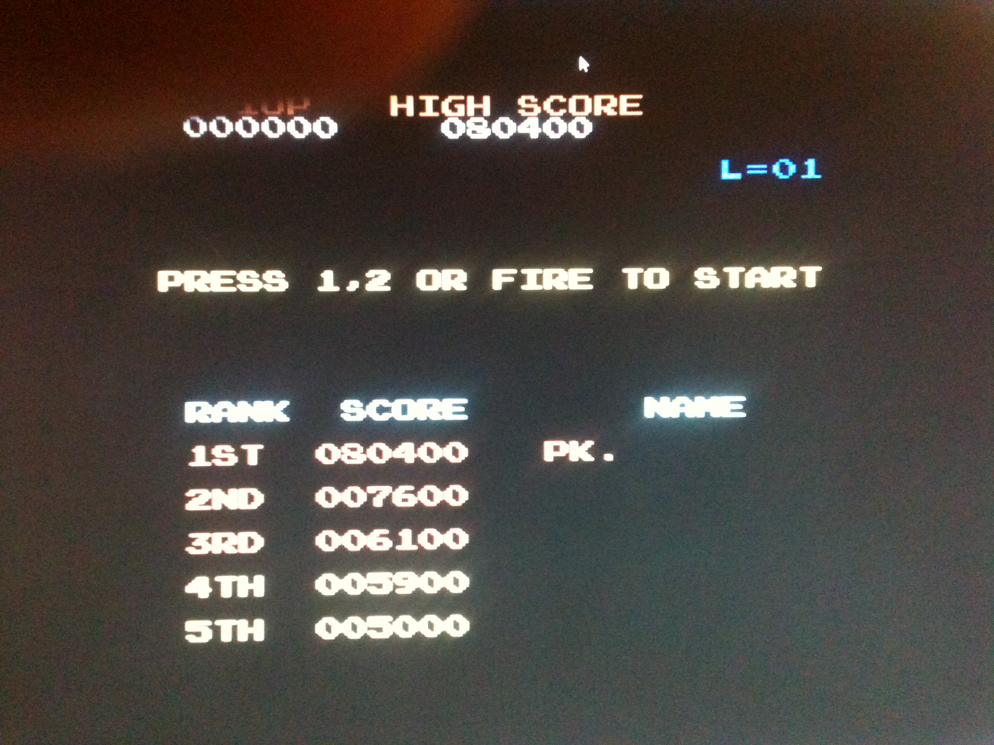 kernzy: Donkey Kong: Ocean (Commodore 64 Emulated) 80,400 points on 2015-04-22 19:45:13