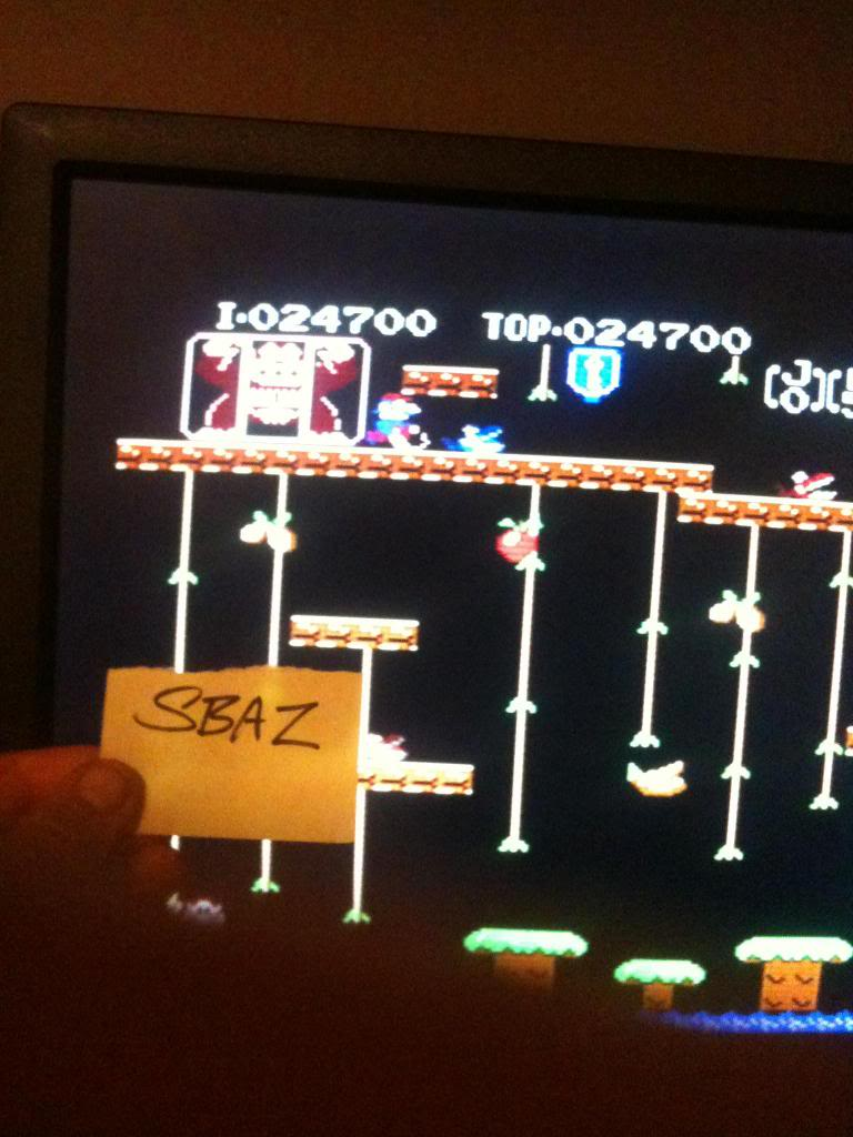 Donkey Kong Jr 24,700 points