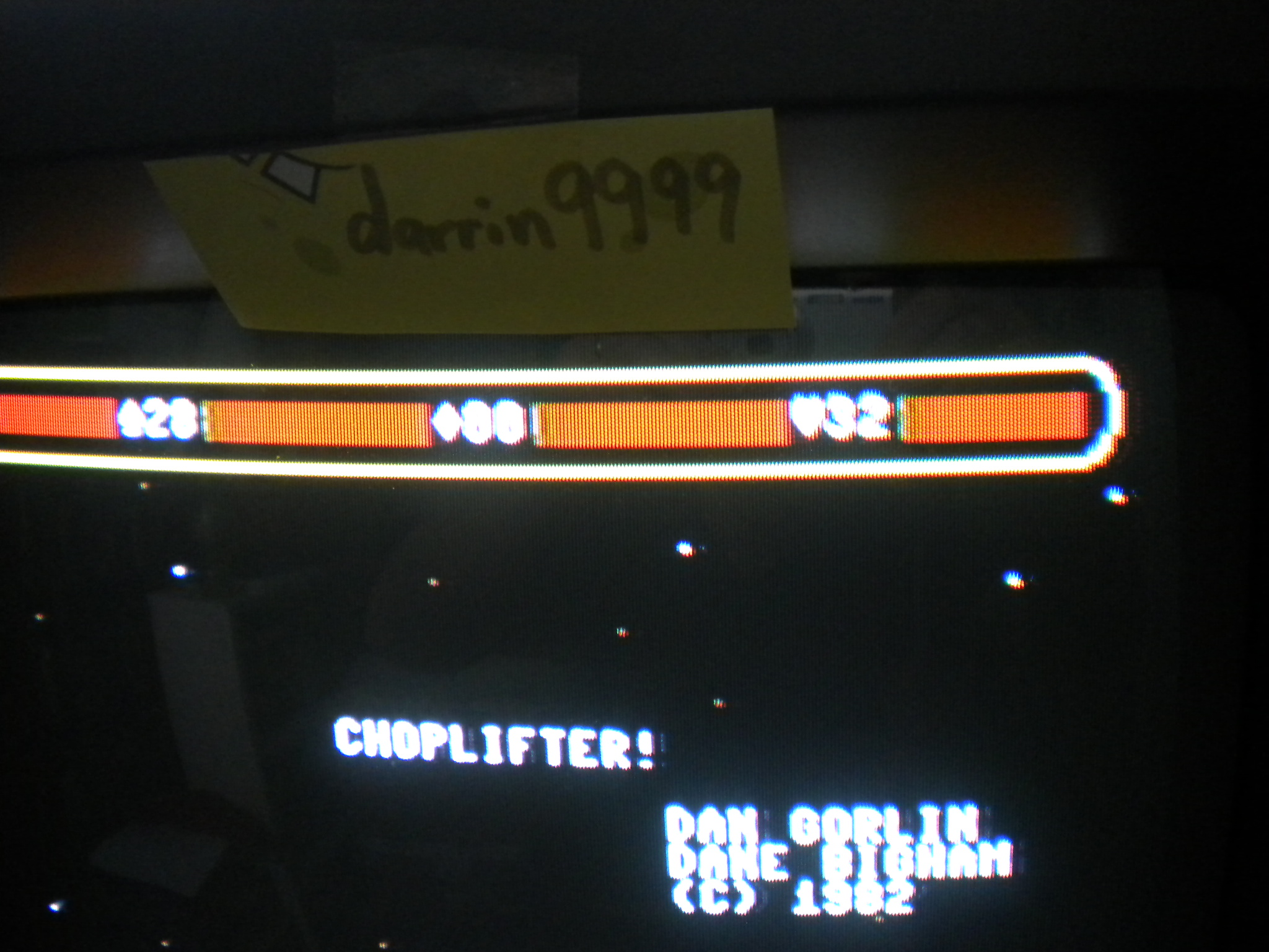 Choplifter 32 points