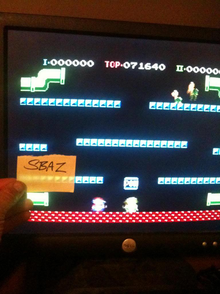 Mario Bros. 71,640 points