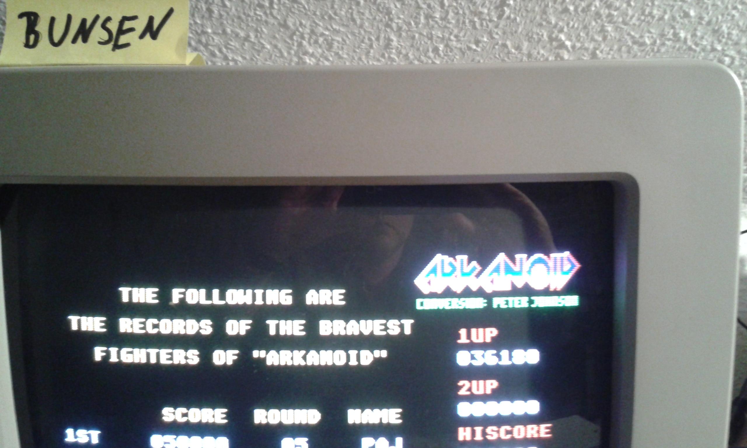 Bunsen: Arkanoid (Atari ST) 36,180 points on 2015-04-24 15:08:10