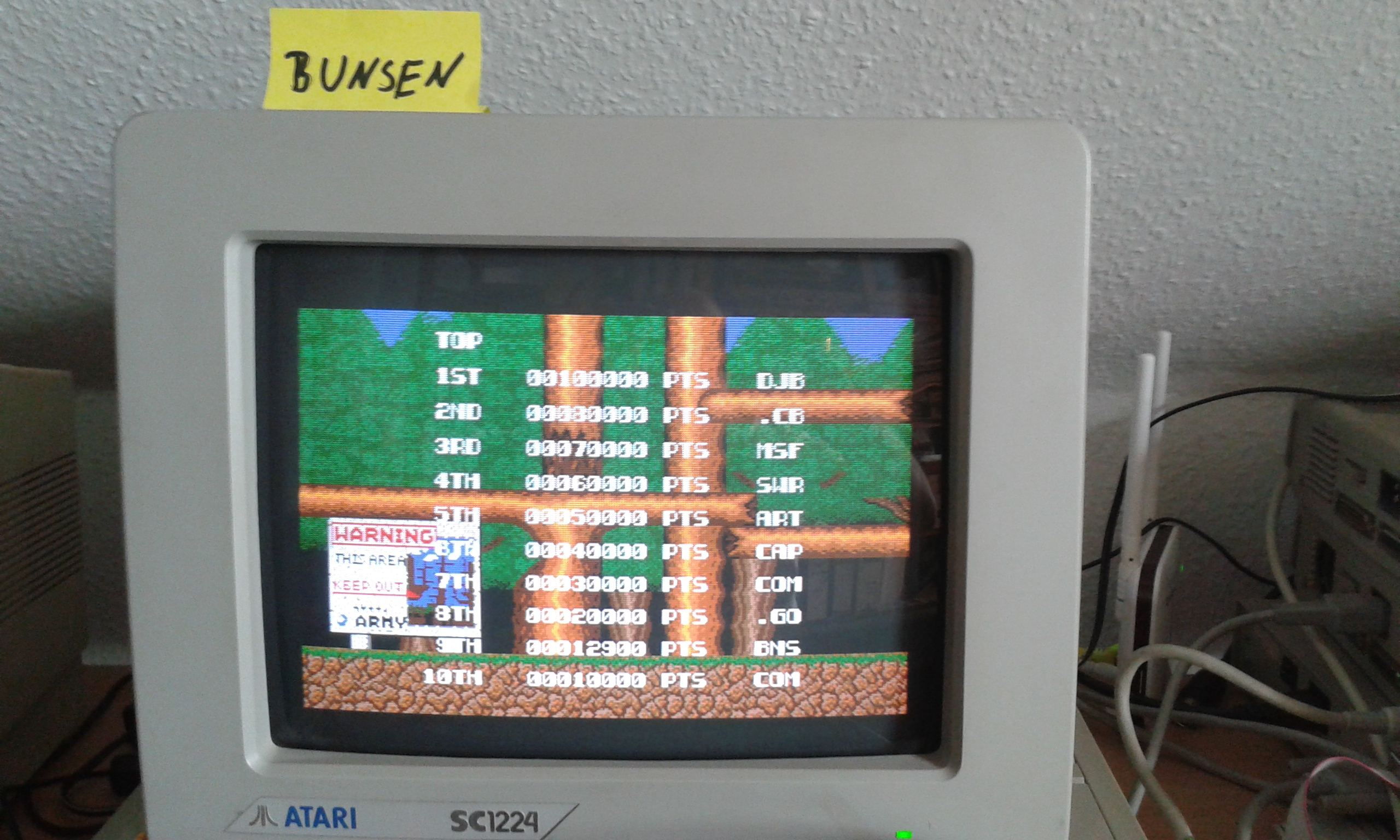 Bionic Commando 12,900 points