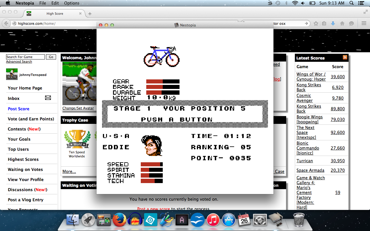 Cycle Race: Road Man [100% Complete] time of 0:01:12