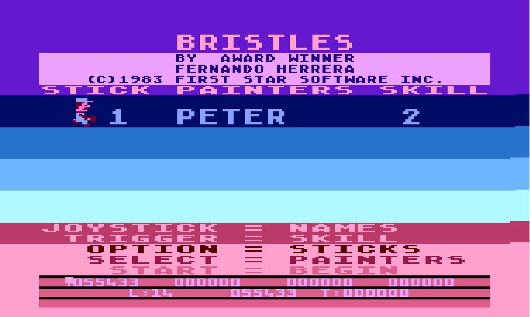 Bristles 55,433 points