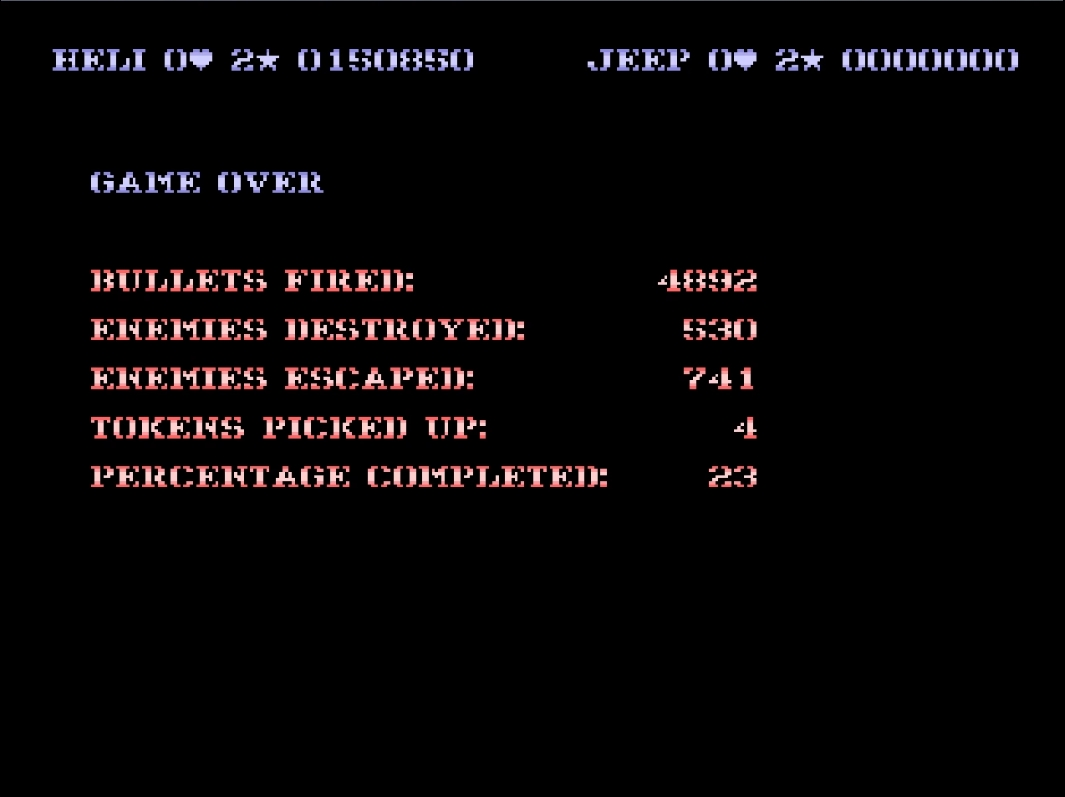 Mantalow: SWIV (Amiga Emulated) 150,850 points on 2015-05-02 09:12:49