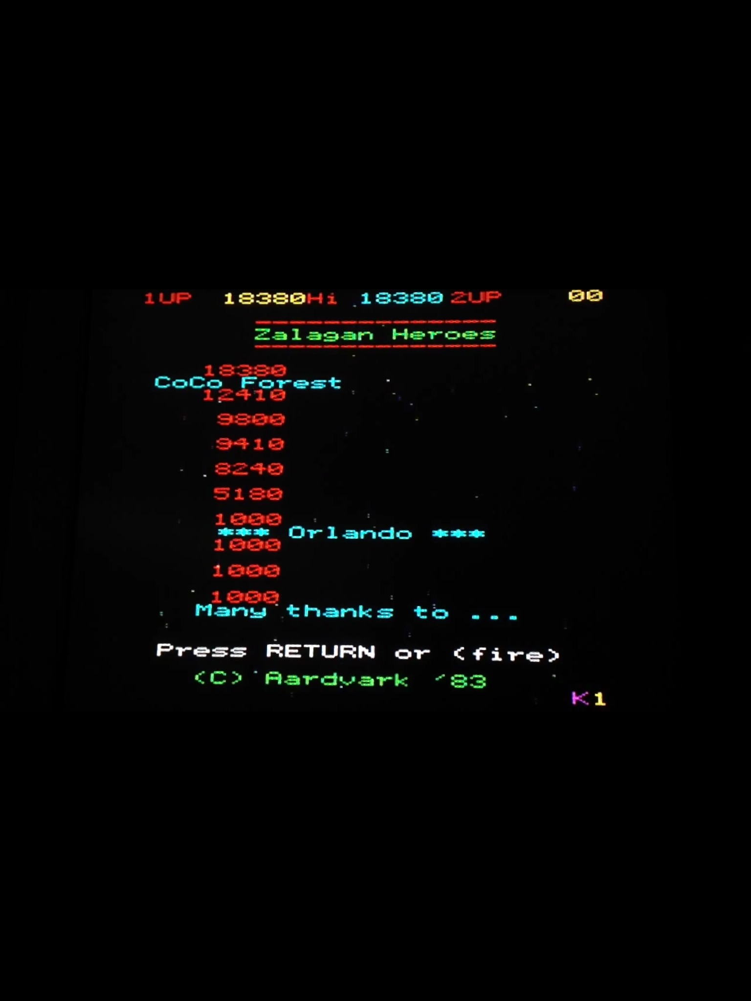 CoCoForest: Zalaga (BBC Micro) 18,380 points on 2015-05-02 12:19:20