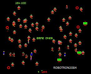 Robotron 2084 164,100 points