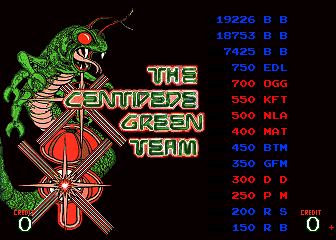 BarryBloso: Arcade Classics: Super Centipede [arcadecl] (Arcade Emulated / M.A.M.E.) 19,226 points on 2015-05-02 20:12:31