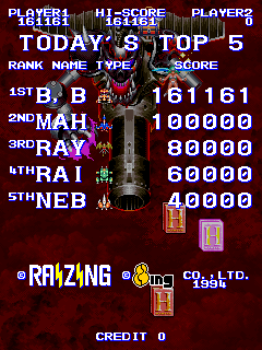 BarryBloso: Kingdom Grandprix [kingdmgp] (Arcade Emulated / M.A.M.E.) 161,161 points on 2015-05-02 20:18:09