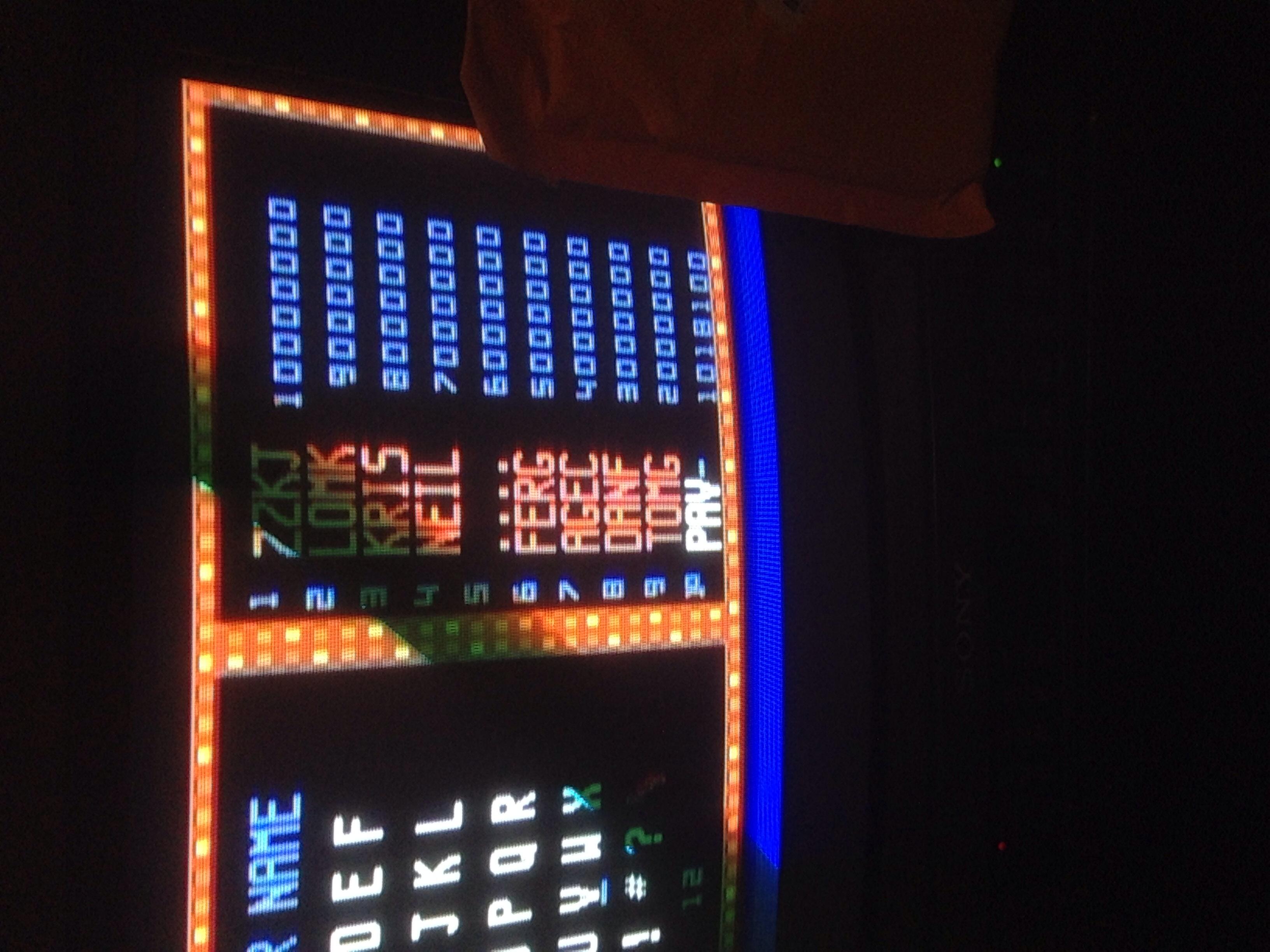 Smash TV 1,018,100 points
