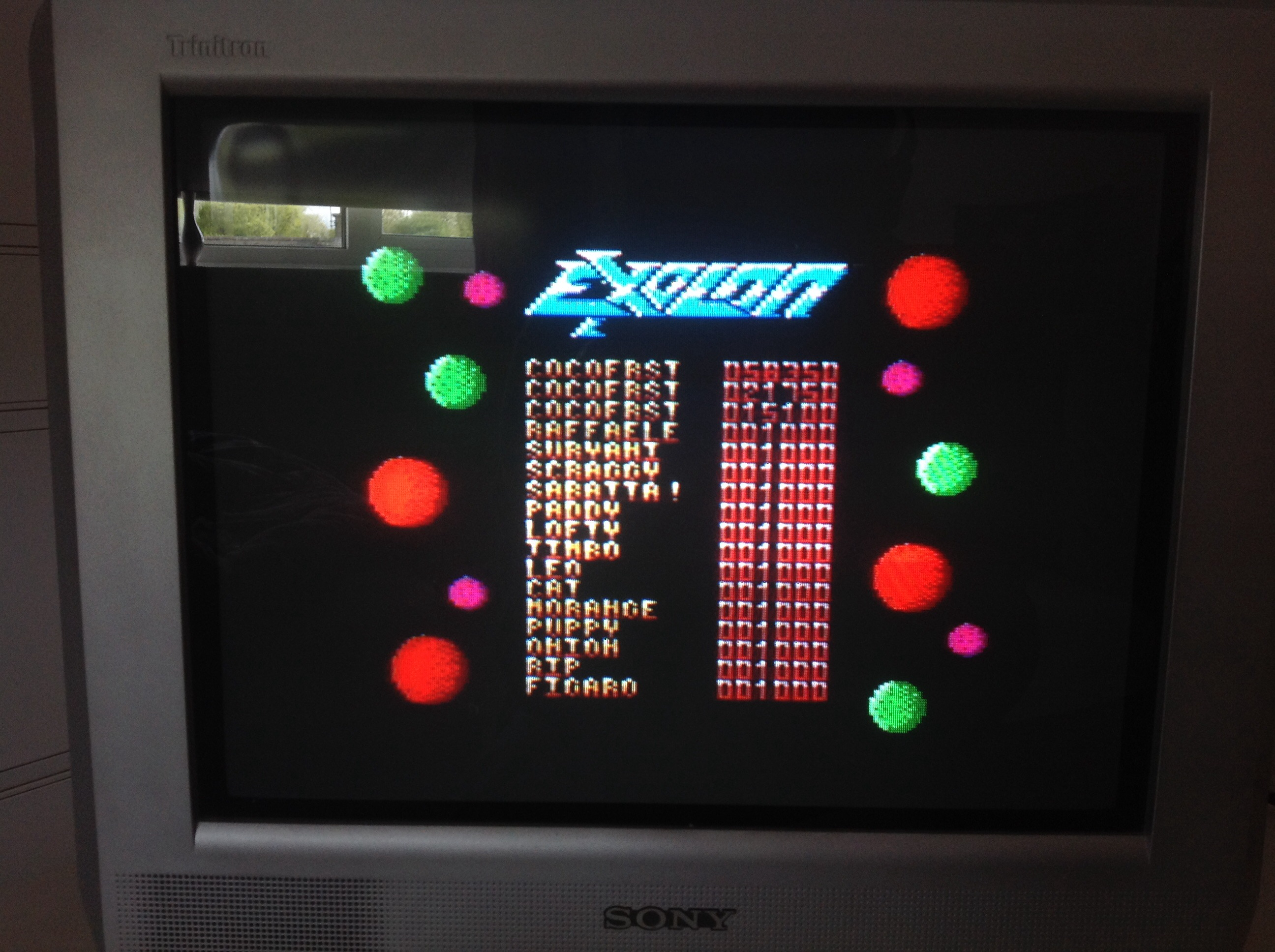 CoCoForest: Exolon (Amstrad CPC) 58,350 points on 2015-05-04 04:08:41