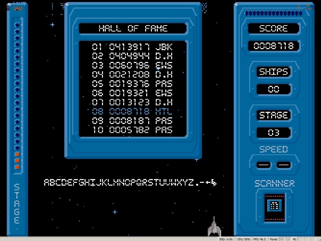 Mantalow: Phalanx (Amiga Emulated) 8,718 points on 2015-05-04 08:25:15