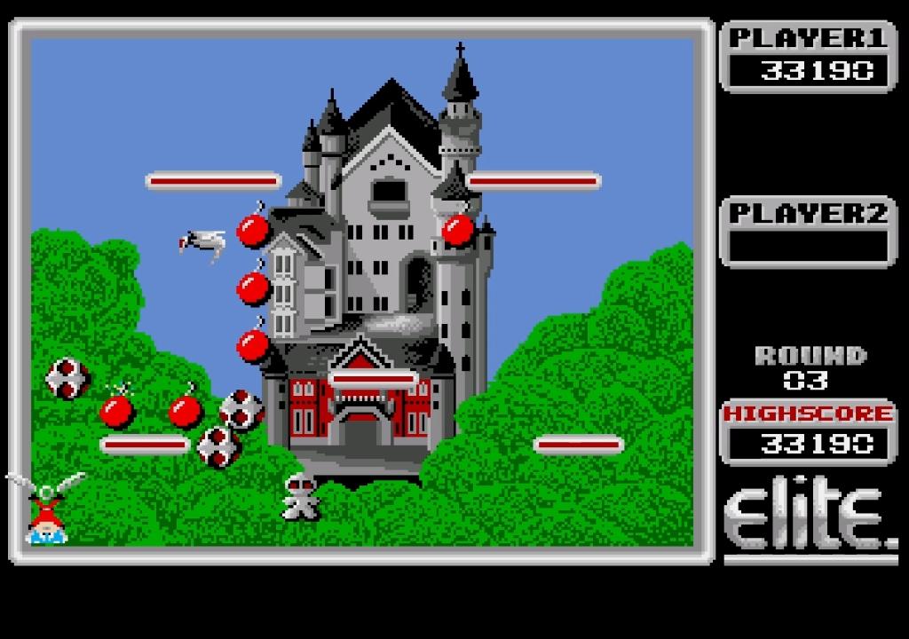 Mantalow: Bomb Jack (Amiga Emulated) 33,190 points on 2015-05-04 12:37:11