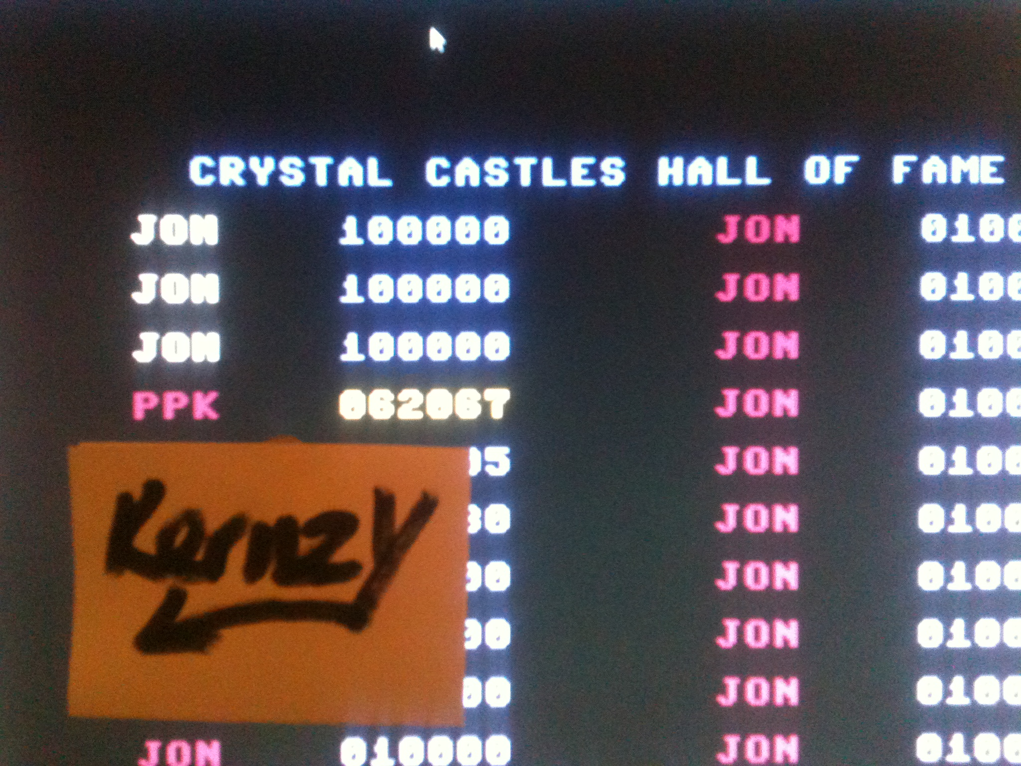 kernzy: Crystal Castles [Thundervision] (Commodore 64 Emulated) 62,067 points on 2015-05-04 13:51:55